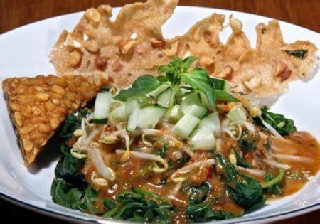 membuat pecel sayur khas jawa enak sehat resep asik