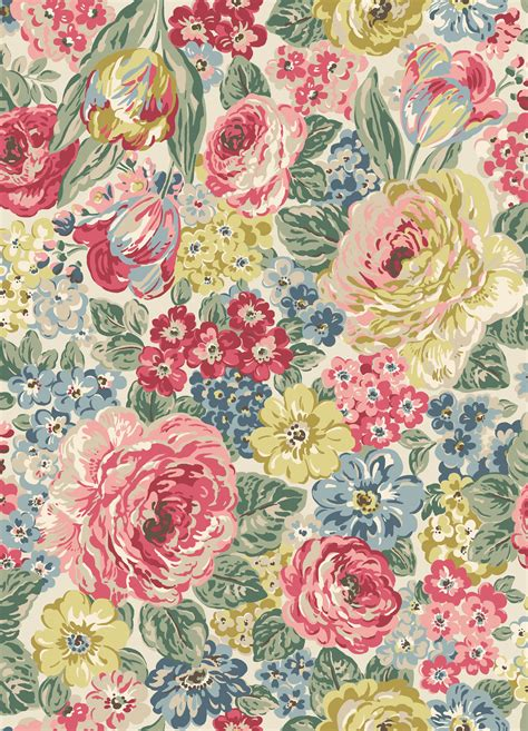 in full flower inspired 0847858693 orchard bloom a large full bloom multi floral in soft dusky shades inspired by an antique