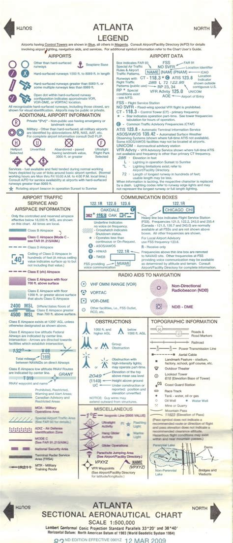 vfr sectional chart legend random light vfr sectional chart legend