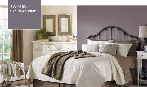 sherwin williams paint colors for bedrooms 2014 color of the year exclusive plum sw 6263 by