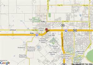 where is katy in the map map of springhill suites houston katy mills katy