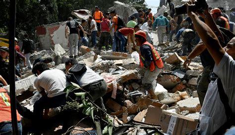 imagenes impactantes y chistosas terremoto en m 233 xico impactantes im 225 genes de los dos