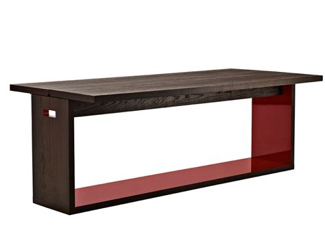 Extending Console Table Extending Solid Wood Console Table Frank Collection By B B Italia Design Antonio Citterio