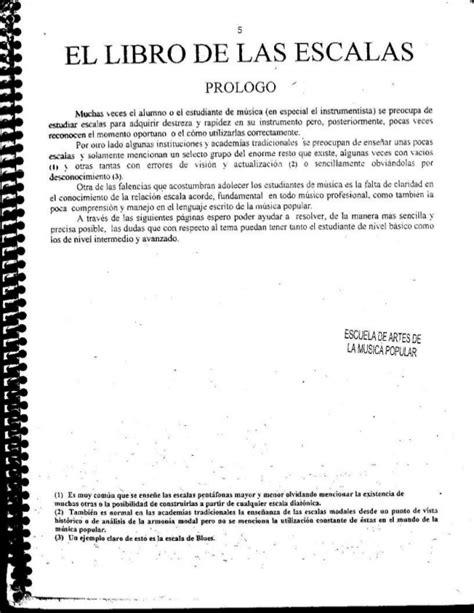 el libro de las 8490323631 el libro de las escalas