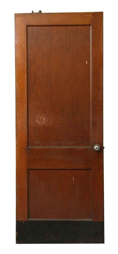 Two Panel Door With Kick Plate Olde Good Things Kick Plates For Interior Doors