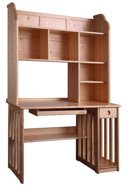 computer desk and bookshelf whitevan