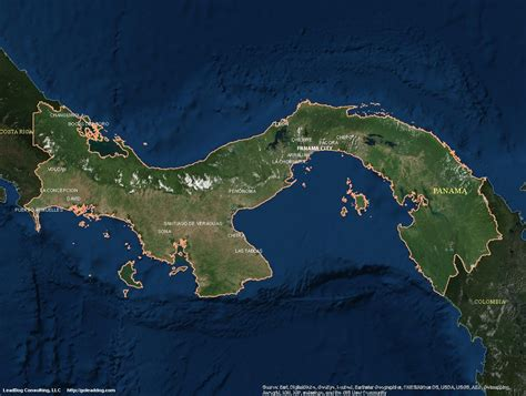 panama city panama map panama satellite maps leaddog consulting