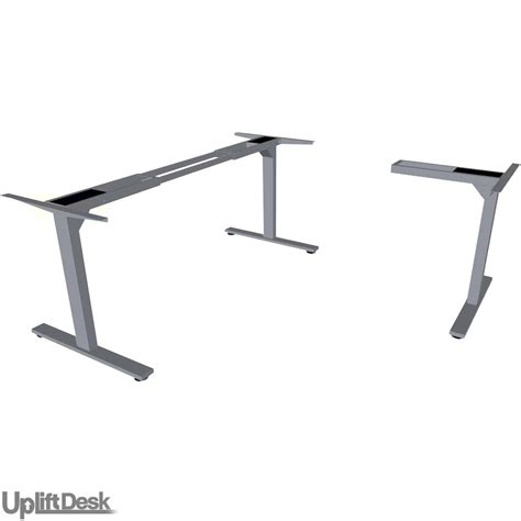 Shop Uplift 950 Height Adjustable 3 Leg Standing Desk Bases Adjustable Desk Legs