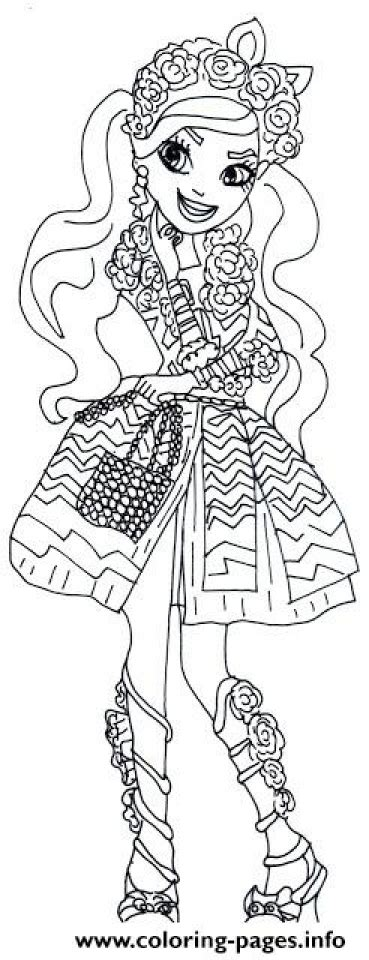 ever after high coloring pages royals get this royal rebels ever after high girl coloring pages