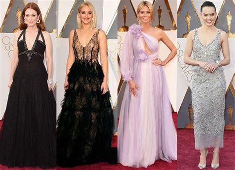 Iconic Gowns Set Stylish Tone For Oscars by Oscars Fashion Many Of The Carpet Went Soft