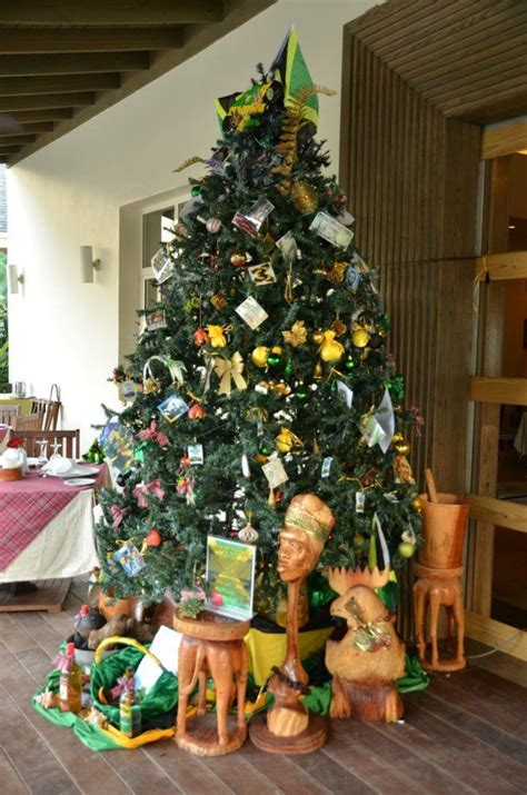 jamaican christmas tree decorations christmas decorating