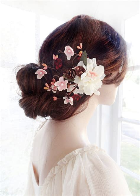 Wedding Hair Accessories Ivory by Bridal Hair Clip Flower Wedding Hair Accessories