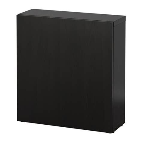 ikea besta black brown best 197 shelf unit with door lappviken black brown ikea