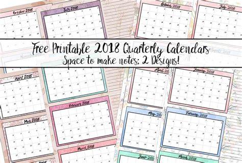 quarterly calendar template quarterly calendar template 2018 choice image template