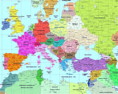 europa map european history maps