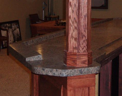 Laminate Bar Top by Basement Bar Design 7 Bar Top And Countertop Surfaces