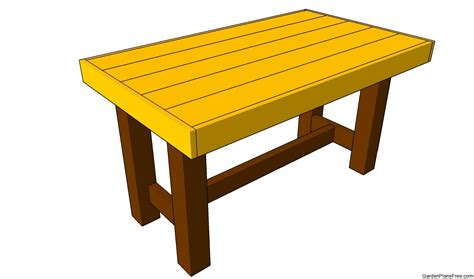 Patio Table Plans Patio Table Plans Free Garden Plans How To Build Garden Projects