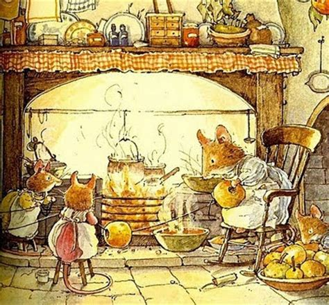 winter story brambly hedge books laini s brambly hedge