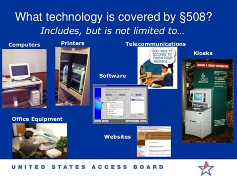 what is section 508 section 508 accessibility idrac 2014 timothy creagon