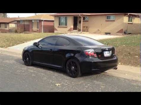2011 scion tc trd exhaust scion tc rs5 trd exhaust cold start rev drive by