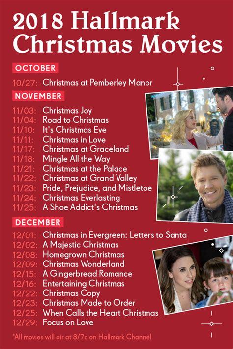 hallmark christmas  schedule monterey bay parent magazine