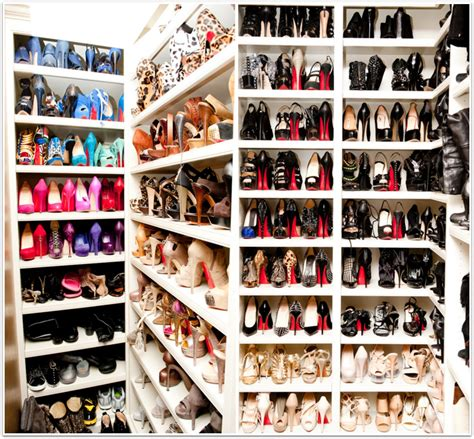 Shoes Closets by A Glimpse Inside Shoe Closets Ix Daily