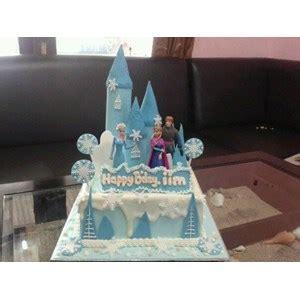 jual kue ultah frozen biru harga murah jakarta oleh khena cake