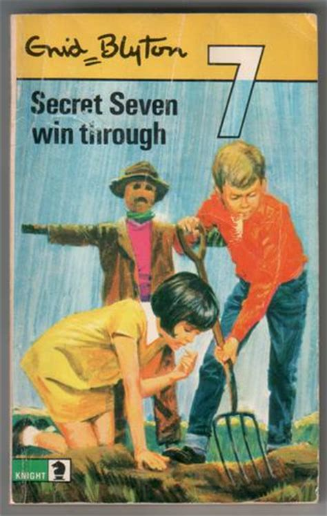secret seven on the secret seven win through by enid blyton children s bookshop hay on wye