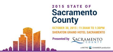 Sacramento County Records 2015 State Of Sacramento County Forum