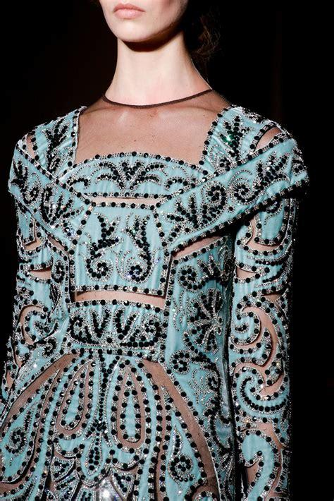 beadwork fashion beadwork valentino fall 2013 couture like german