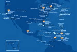 Jetblue Route Map by Jetblue Airways Enjoys A Unit Revenue Premium Compared To