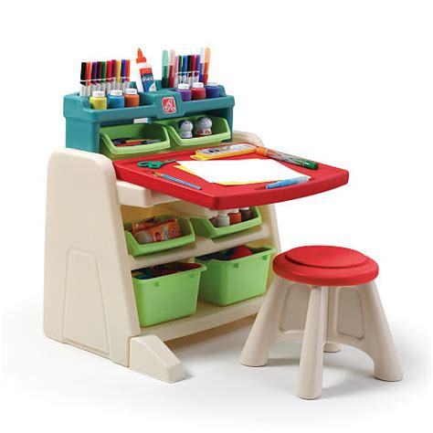 step2 flip and doodle easel desk with stool assembly flip doodle easel desk best educational infant toys