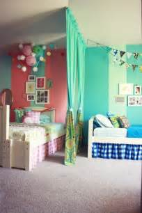 shared childrens bedroom ideas 12 blue and pink shared kids rooms kidsomania