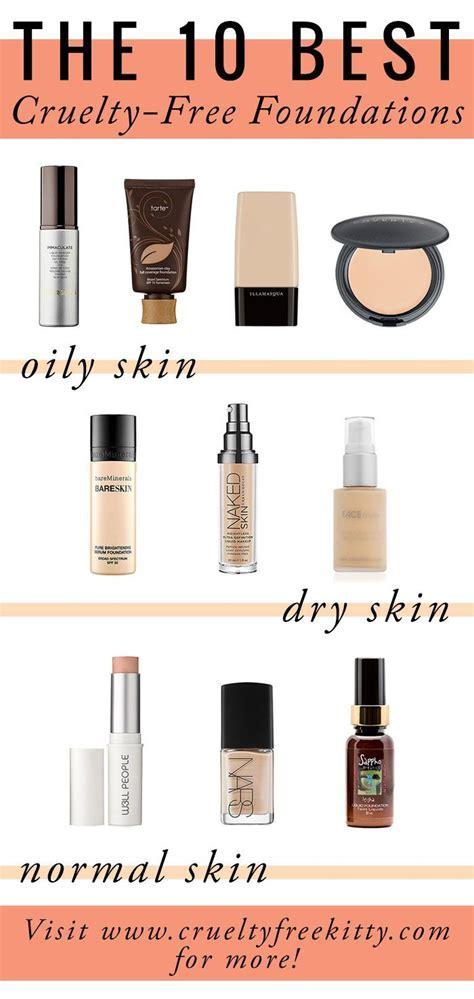 Best #crueltyfree foundations for different skin types