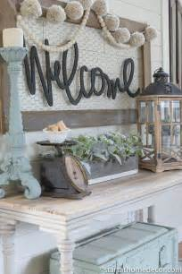 welcome to our home entry on a budget start at home decor
