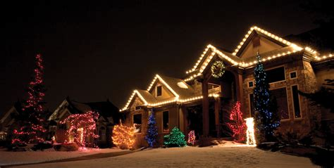 collection professional christmas light installation