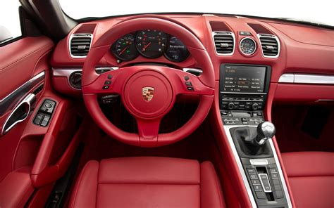 porsche boxster interior 2013 motor trend car of the year contender porsche boxster