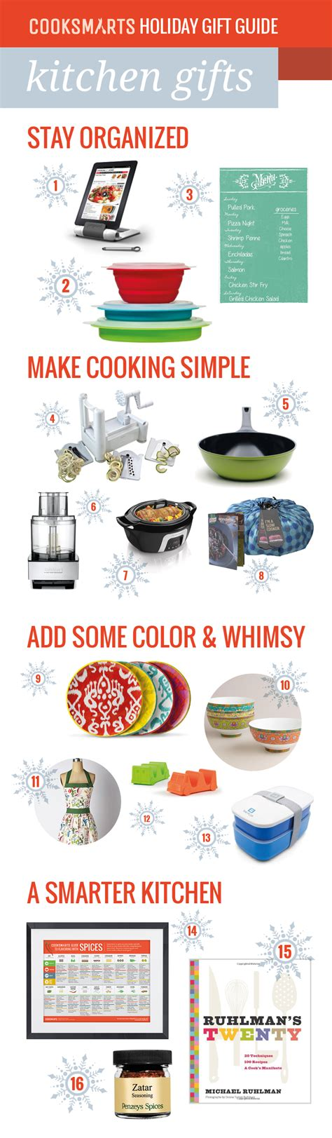 kitchen gifts cook smarts holiday gift guide gifts for cooks