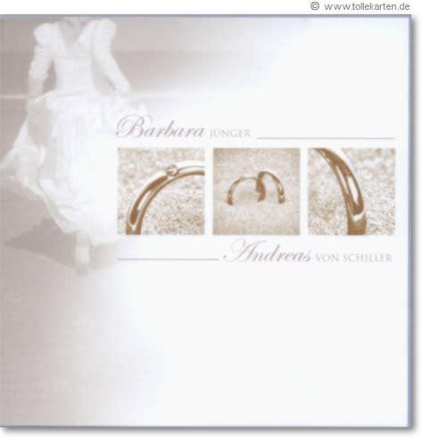 Motive Hochzeitseinladungen by Hochzeitskarte Mit Trauringe Motiv Hochzeitskarten