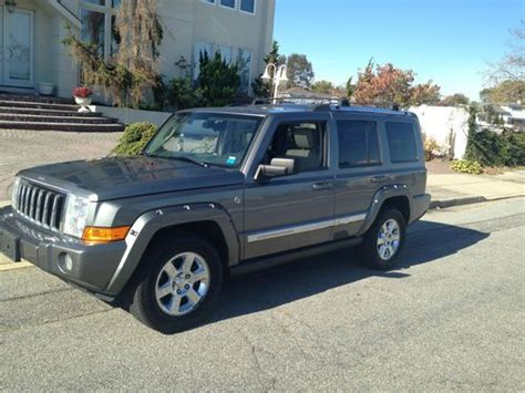 how to sell used cars 2007 jeep commander free book repair manuals sell used 2007 jeep commander limited sport utility 4 door 5 7l in oyster bay new york united