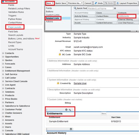 page layout questions in salesforce infallible techie entitlement management in salesforce