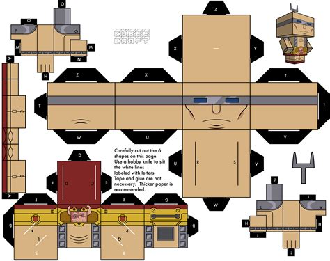 Cubeecraft Papercraft - krang in biosuit by cubeecraft on deviantart