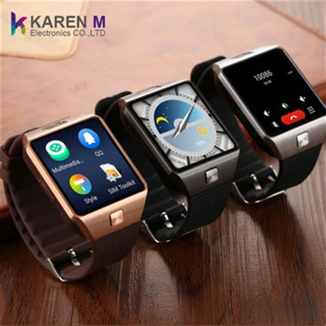 Smartwatch Qw09 2017 qw09 android 4 4 smart wifi 3g smart phone 2mp 4gb rom android smart