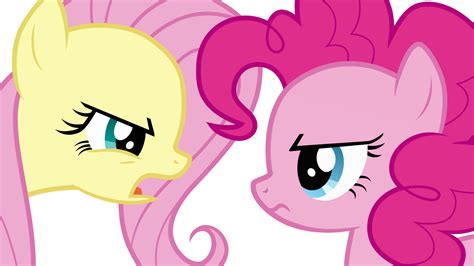 pinkie pie fluttershy and pinkie pie arguing by uponia on deviantart