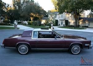 1985 Cadillac Biarritz Gorgeous Pristine Luxury Survivor 1985 Cadillac Eldorado