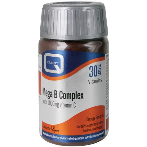 B Complex Plus 30 Tablet quest mega b complex with vitamin c tablets