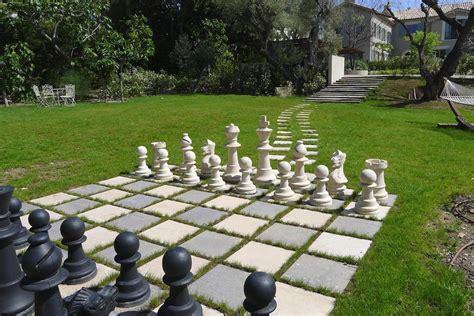 backyard chess la ferme blanche cap antibes french riviera new luxury