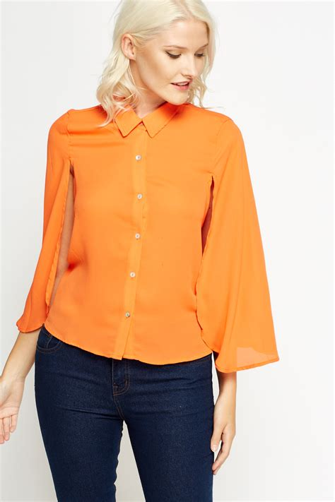 Cape Sleeve Blouse cape sleeve blouse just 163 5