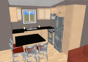 Small Open Kitchen Floor Plans by House Electrical Wiring Diagrams 3 Bed Room Flat Floor