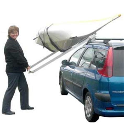 Side Loading Roof Rack by Kari Tek S Easy Load Roof Rack Suits Both Kayaks Canoes